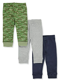 Baby Boys' Camo 3-Pack Joggers by Luvable Friends in Camo