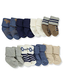 Hudson Outdoor 8-Pack Foldover Socks by Hudson Baby in Multi
