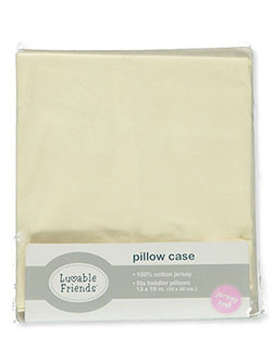 Cotton Jersey Toddler Pillowcase by Luvable Friends in Yellow/multi - $1.99