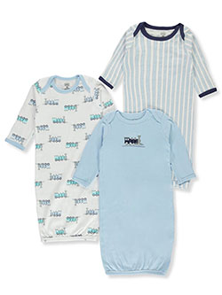 Baby Boys' 3-Pack Gowns by Luvable Friends in Multi