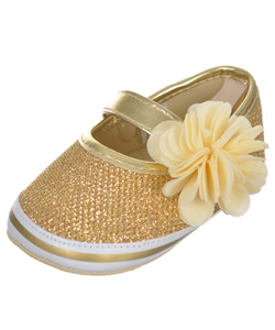 "Stepping Stones Baby Girls' ""Glimmer Gal"" Booties - CookiesKids.com"