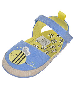"Stepping Stones Baby Girls' ""Friendly Bee"" Booties - CookiesKids.com"