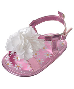 "Stepping Stones Baby Girls' ""Luxe Petals"" Sandal Booties - CookiesKids.com"