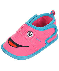 "First Steps by Stepping Stones Baby Girls' ""Fish Tails"" Water Shoe Booties - CookiesKids.com"
