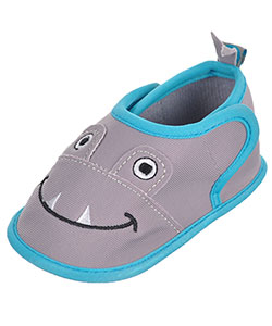 "First Steps by Stepping Stones Baby Boys' ""Shark Teeth"" Water Shoe Booties - CookiesKids.com"