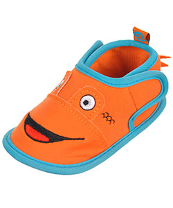 "First Steps by Stepping Stones Baby Boys' ""Fish Tails"" Water Shoe Booties - CookiesKids.com"