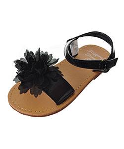 First Steps by Stepping Stones Girls' Sandals (Sizes 7 – 10) - CookiesKids.com