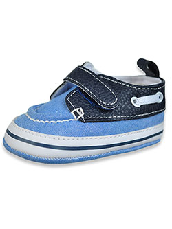 Baby Boys' Chambray Sneakers by First Steps in Chambray blue, Infants