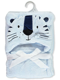Baby Boys' Tiger Plush Hooded Blanket by Rene Rofe in Blue
