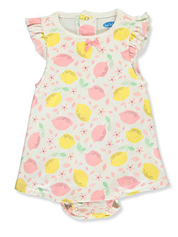 Fun Fruit Dress/Bodysuit Combo by Bon Bebe in Multi