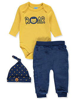 Baby Boys' 3-Piece Layette Set by Bon Bebe in Multi, Infants