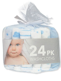 24-Pack Washcloths by Bon Bebe in Multi, Infants