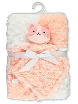 Plush Blanket with Toy by Bon Bebe in Multi