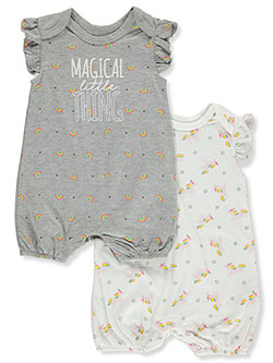 Baby Girls' Magical 2-Pack Rompers by Always Loved in Multi