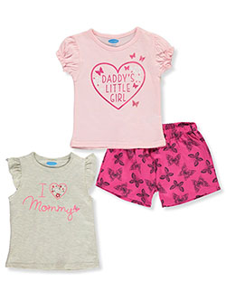 Butterfly 3-Piece Mix-n-Match Set by Bon Bebe in Multi