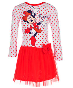 Minnie Mouse Little Girls' Toddler Dress (Sizes 2T – 4T) - CookiesKids.com