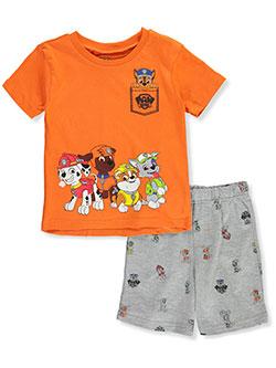 PAW PATROL Boys Trio 3-Piece Shorts Set Outfit