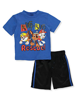 Boys' Ruff 2-Piece Shorts Set Outfit by Paw Patrol in Multi
