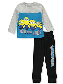 Boys' More Than 2-Piece Sweatsuit Outfit by Minions in Blue
