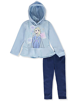 Frozen Elsa 2-Piece Leggings Set Outfit by Disney in Multi