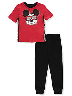 Mickey Mouse Sunglasses 2-Piece Joggers Set Outfit by Disney in Multi