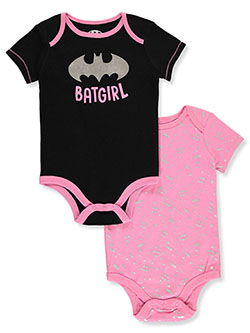 Baby Girls' Shield 2-Pack Bodysuits by Batgirl in Multi