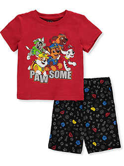 Boys' Pawsome 2-Piece Shorts Set Outfit by Paw Patrol in Multi - Short Set