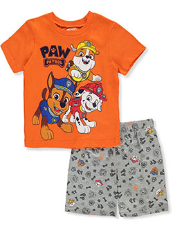 Boys' Trio 2-Piece Shorts Set Outfit by Paw Patrol in Multi - Short Set