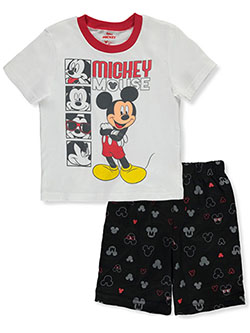 Mickey Mouse Squares 2-Piece Shorts Set Outfit by Disney in Multi - Short Set