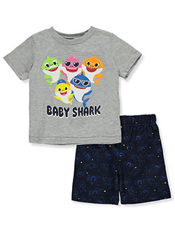 Pinkfong Sunglasses 2-Piece Shorts Set Outfit by Pinkfong Baby Shark in Multi - Short Set