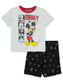 Mickey Mouse Baby Boys' 2-Piece Shorts Set Outfit by Disney Mickey Mouse in Multi