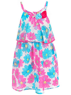 Famous Brand Little Girls' Toddler Dress (Sizes 2T – 4T) - CookiesKids.com