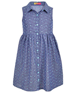 Famous Brand Big Girls' Dress (Sizes 7 – 16) - CookiesKids.com