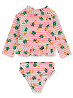 Freestyle Revolution Boys Toddler Sail Away Guard Top and Shorts Set
