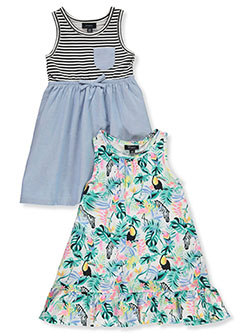 Baby Girls' 2-Pack Dresses by Picapino in Multi - $9.99