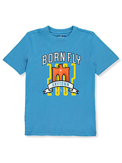Boys' Anytown T-Shirt by Born Fly in Blue