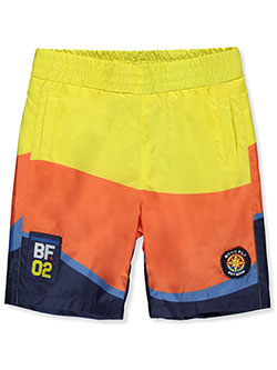 Boys' Color Block Swim Shorts by Born Fly in Multi