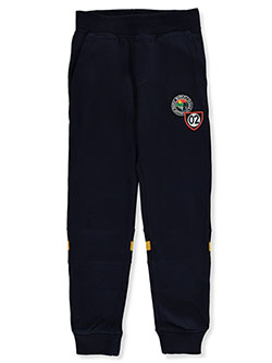Boys' Sign Patch Joggers by Born Fly in Navy - Sweatpants