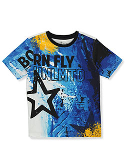 Boys' Unlmtd. T-Shirt by Born Fly in White/multi