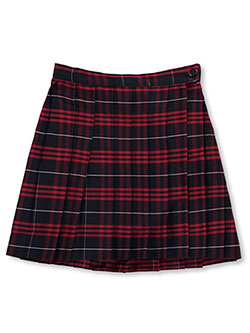 "Little Girls' ""Ruby"" Pleated Skirt in plaid #36, plaid #37, plaid #9a and more"