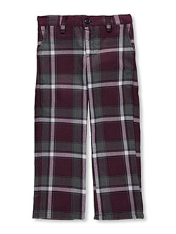 "Little Girls' ""Highlands"" Pants in Plaid #91, School Uniforms"