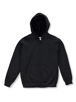 Gildan Basic Fleece Zip-Up Hoodie (Youth Sizes S – XL) - CookiesKids.com