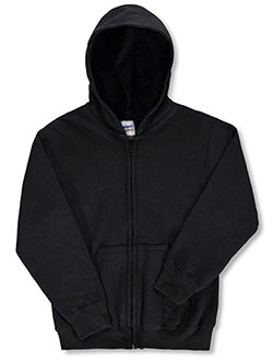 Gildan Basic Fleece Zip-Up Unisex Hoodie (Youth Sizes S - XL) - CookiesKids.com