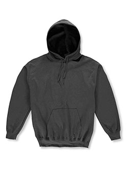 Unisex Pullover Hoodie by Gildan in black, burgundy, navy and more - $32.00