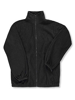 "Men's ""Iceberg Fleece"" Unisex Jacket by Ultra Club in black, charcoal gray and navy, School Uniforms"
