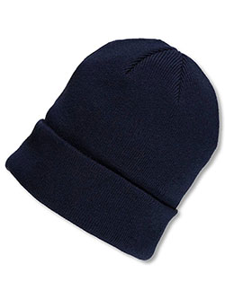 Boys' Beanie by Big Accessories in Navy