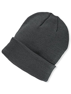 Boys' Beanie by Big Accessories in gray and navy - $8.00