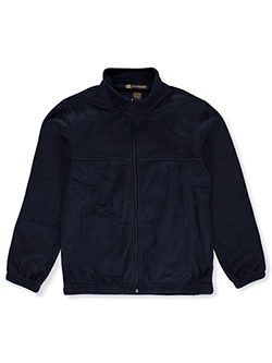 Unisex Youth Fleece Jacket by Harriton in Navy - $45.00