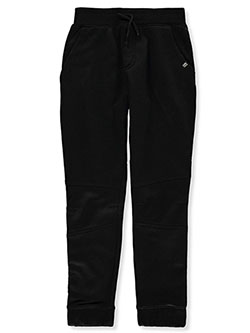 Boys' Pieced Joggers by Beverly Hills Polo Club in Black