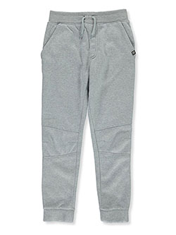 Boys' Pieced Joggers by Beverly Hills Polo Club in Gray heather